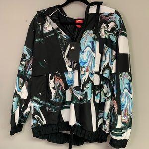 Nike Windbreaker Black Jacket Medium